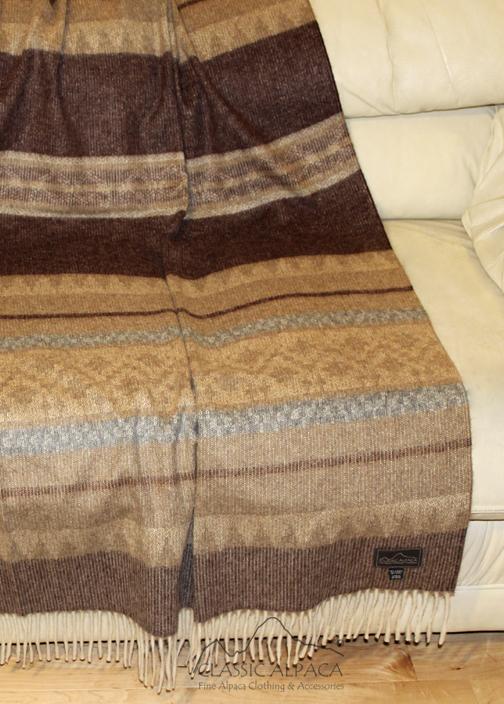 Alpaca Cherokee Blanket