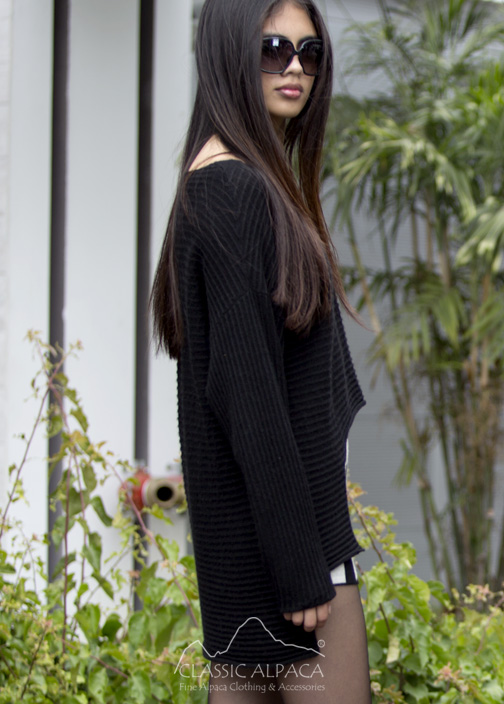 Missy Baby Alpaca Sweater