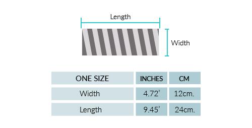 Cable Alpaca Headband Size chart