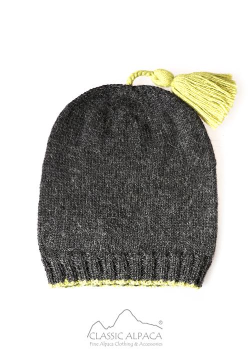 Tassel Baby Alpaca Hat