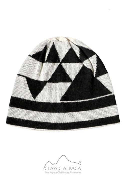 Geometric Baby Alpaca Hat