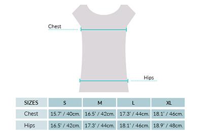 Cotton Baby Alpaca Knit Mini Dress Size chart