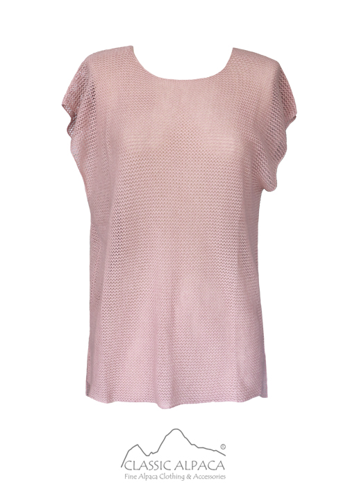 Cotton Baby Alpaca Knit T-shirt