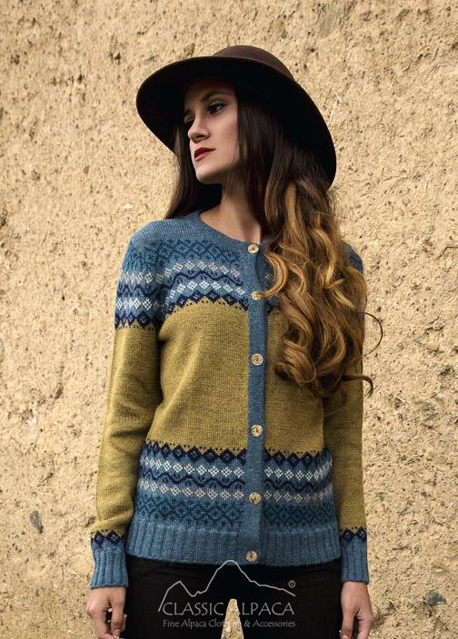 Autumn Alpaca Cardigan
