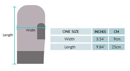 Ilave Alpaca Mittens Size chart