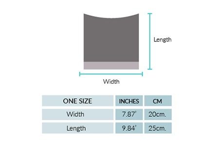 Madisson Alpaca Hat Size chart