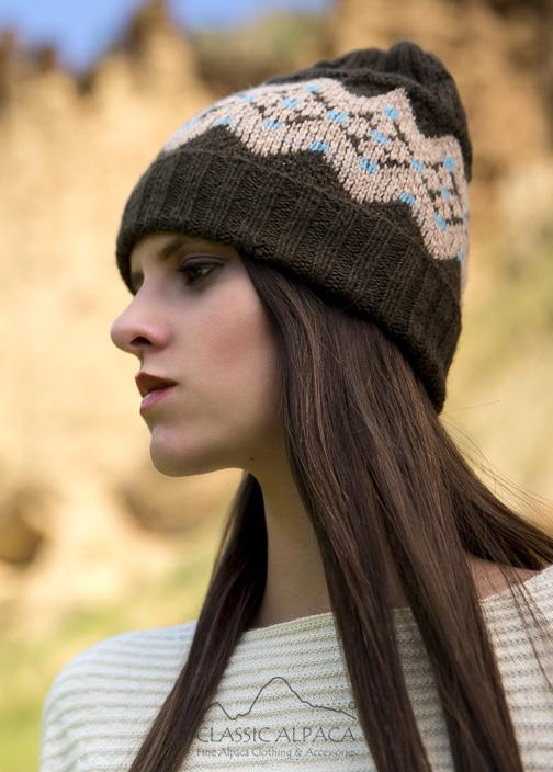 Hannah Baby Alpaca Hat