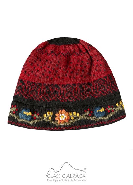 Bloom Alpaca Hat-Fleece Lining