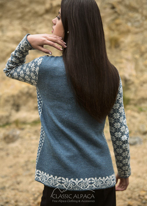 Norwegian Alpaca Cardigan