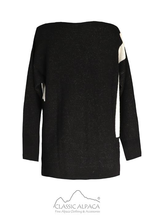 Indiana Jacquard Alpaca Sweater