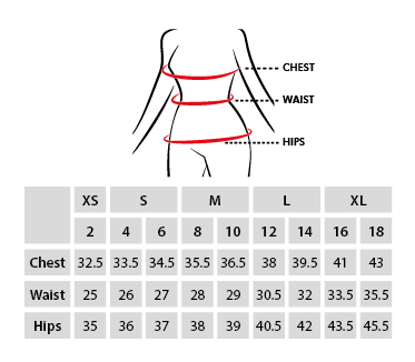 V-Fashion Alpaca Sweater Size chart