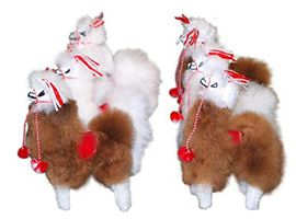 ALPACA Fur Andean Ornament