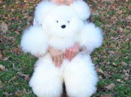 ALPACA Fur-Classic Ornament 20 inches