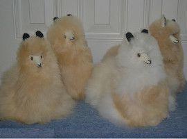 ALPACA Fur-Peruvian Sitting Ornament