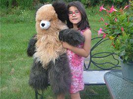 ALPACA Fur- Classic Ornament 32 inches