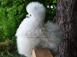 BABY Alpaca Fur-Peruvian Ornament 9 inches
