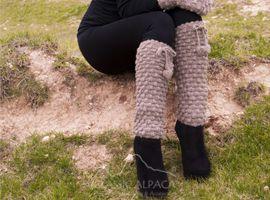 Abigail Alpaca Leg Warmer | Classic Alpaca Peru