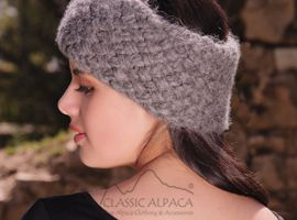 Alpaca Fleece Headband