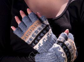 Peruvian Alpaca Half Finger Gloves | Classic Alpaca Peru
