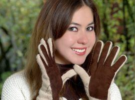 Alpaca Double Layer Driving Gloves | Classic Alpaca Peru