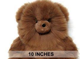 ALPACA Fur-Classic Ornament 10 inches