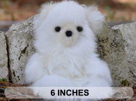 BABY Alpaca Fur-Classic Ornament 6 inches