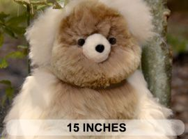ALPACA Fur - Classic Ornament 15 inches