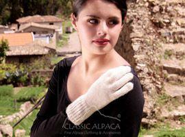 Jersey Alpaca Gloves | Classic Alpaca Peru