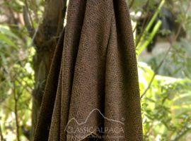 Woven & Brushed Geometric Baby Alpaca Throw