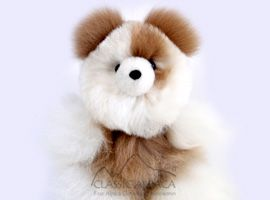 BABY Alpaca Fur-Classic Ornament 9 inches