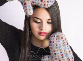 Alpaca Thrummed Mittens | Classic Alpaca Peru