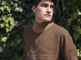 Ishmael Full Zip Cardigan Sweater | Classic Alpaca Peru