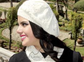 Crystal Baby Alpaca Hat