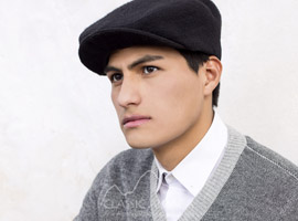 Men's Alpaca Driving Cap
