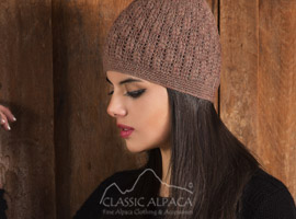 Chiara Crocheted Alpaca Hat