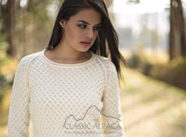 Ivane Alpaca Sweater | Classic Alpaca Peru