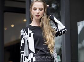 Suki Baby Alpaca Jacquard Cardigan  | Classic Alpaca Peru