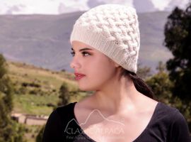 Shadow Cable Alpaca Hat