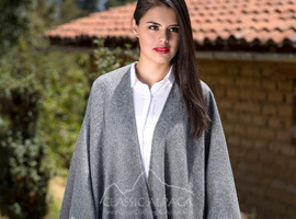 Royal Alpaca Cape-Ruana-Coat-Wrap
