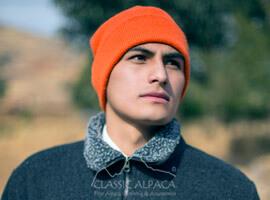 Double Knit Alpaca HUNTER Hat