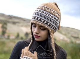 Peruvian Alpaca Chullo Fleece Lining