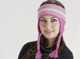 Alpaca Headband with Braids
