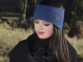 Alpaquita Wide Headband Fleece Lining