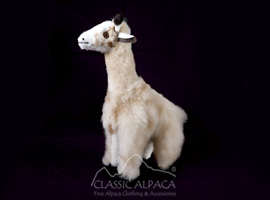 Baby Alpaca Fur - Giraffe Ornament 13 inches
