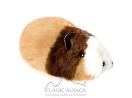 ALPACA Fur-Guinea Pig Ornament 12 inches