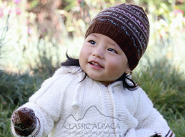 Baby Alpaca Toddler Hat