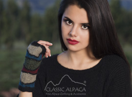 Kotosh Alpaca Fingerless Gloves
