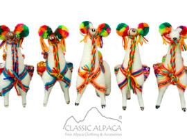 Ethnic Peruvian Llama