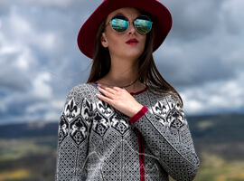 Ludmila Baby Alpaca Full Zip Sweater