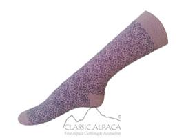 Jacquard Alpaca Socks